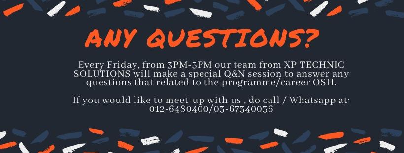 F&Q – ONLINE COURSE OSH-C 2020